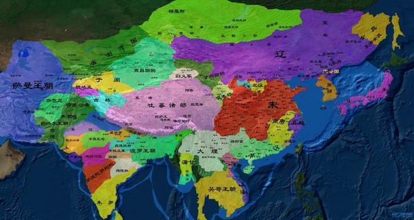 【多图】中国历史地图…重绘详细版…从地图中见证的