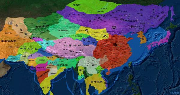 北宋广南西路地图