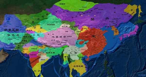 从地图中见证中国历史疆域版图的变化【第十二期】