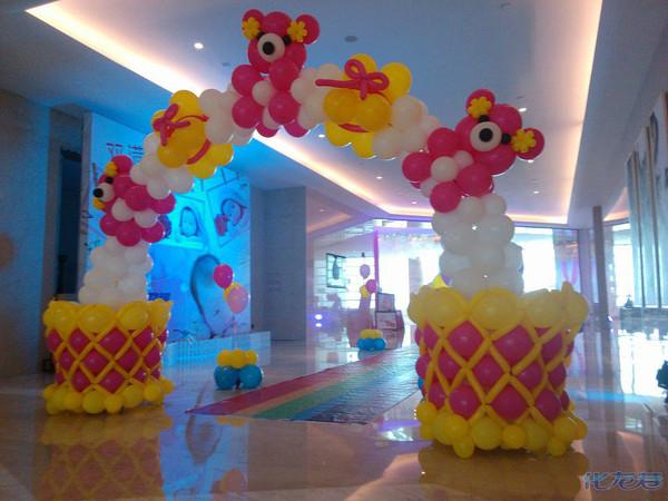 常州泡泡龙气球装饰,气球造型