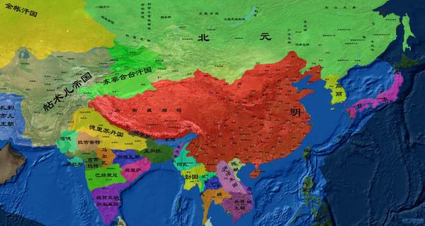 【多图】中国历史地图…重绘详细版…从地图中见证中国历史疆域版图的