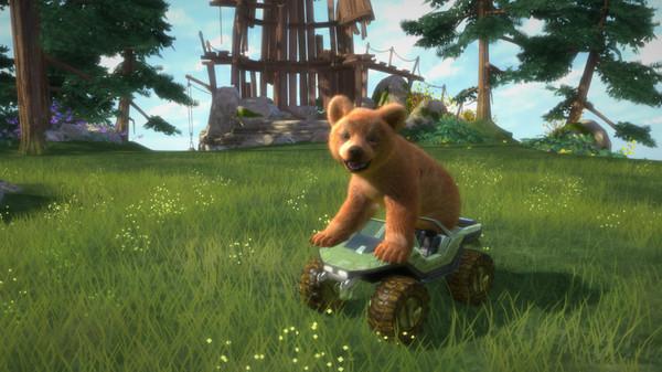 来和小动物们玩耍,但是由于小熊老整蛊和欺负小动物