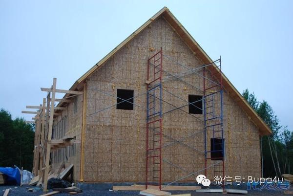 木条编制房子图片