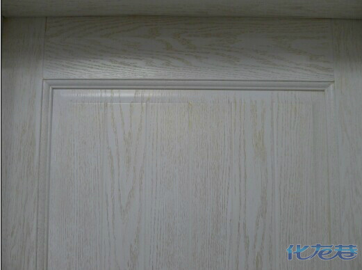 橡胶木原木门同样可以做成开放油漆.满足业主对于和
