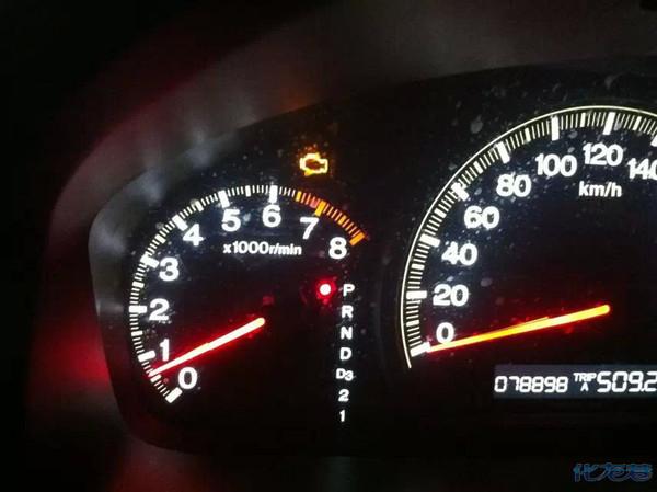 为什么我广本雅阁车子的平均油耗不动高清图片