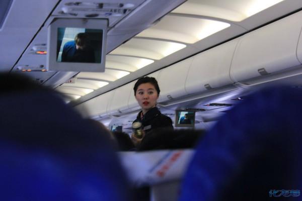 西安飞往常州的mu2958航班上拍美丽的运海
