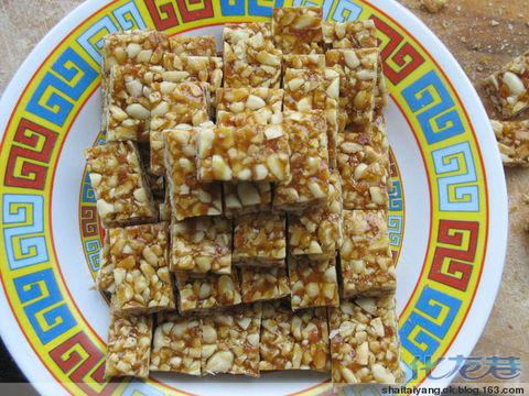 花生糖的制作方法鸵鸟250克花生米(黑芝麻或寿光有机猪肉白糖蛋图片