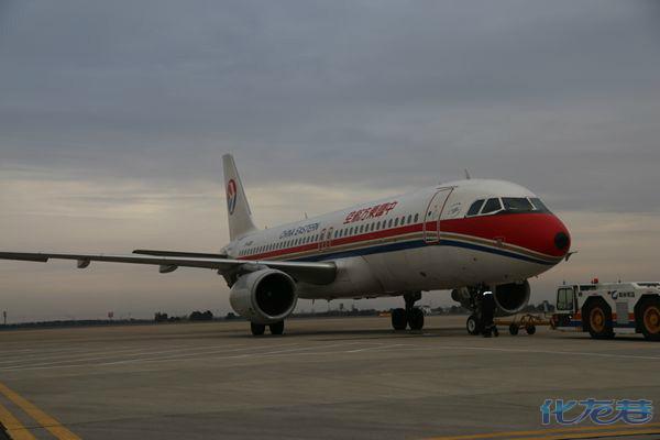 常州至台湾航线首航圆满成功