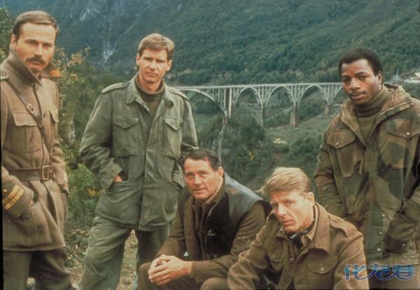 【甘总2015推荐】哈里森福特经典二战巨片,潜入德军后方的盟军《纳