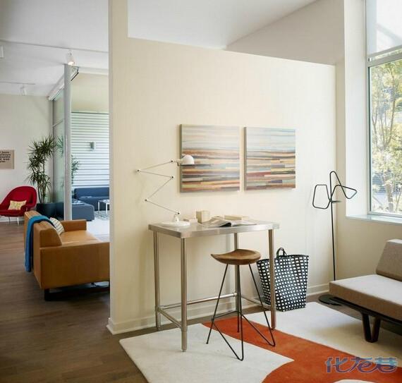 客厅中格出一个10平米左右的小书房,用什么方案?隔断怎么做?