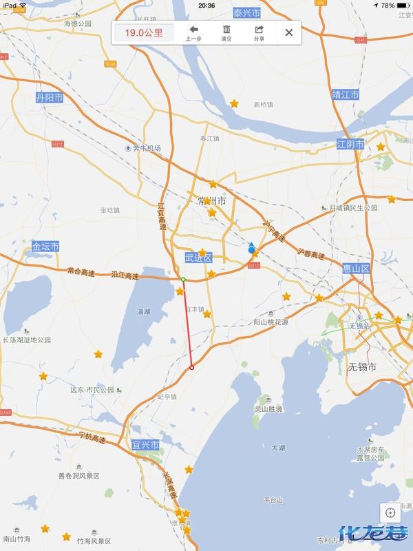 宜兴县行政区划地图
