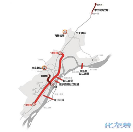 常州过江通道接线图