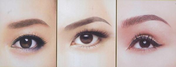 纹绣素描眼睛的画法步骤图