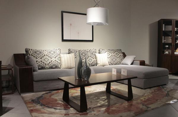 家具团购爆款--沙发 材质:扶手胡桃木