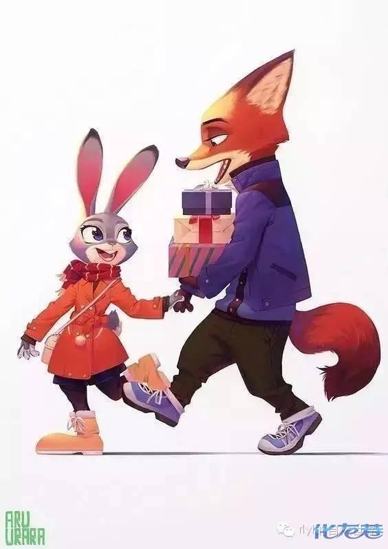 《疯狂动物城》里,兔朱迪和狐狸尼克这对cpxxoo之后