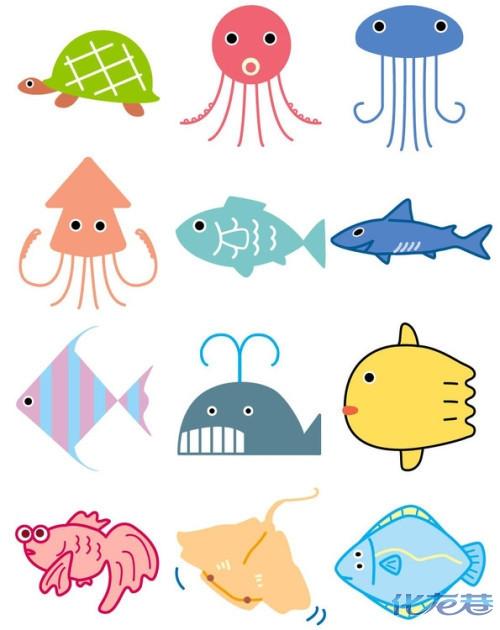 幼儿小动物的简笔画图片_幼儿小动物的简笔画图片下载